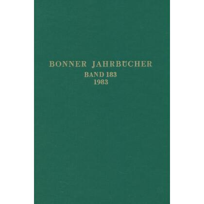 Bonner Jahrbücher Band 183 - 1983