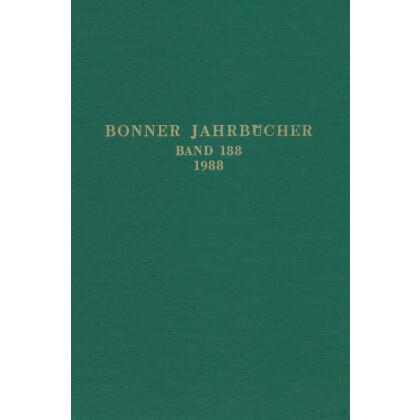 Bonner Jahrbücher Band 188 - 1988