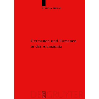 Germanen und Romanen in der Alamannia