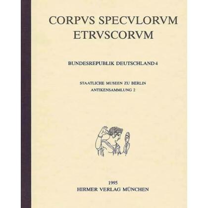 Corpus Speculorum Etruscorum - Schweiz I