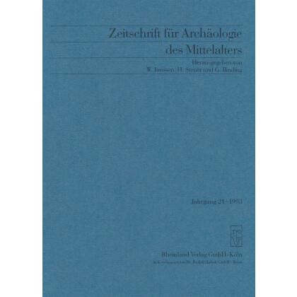 Zeitschrift für Archäologie des Mittelalters, Jahrgang 1993-21
