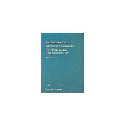 Probleme der Küstenforschung im südlichen Nordseegebiet - Band 25