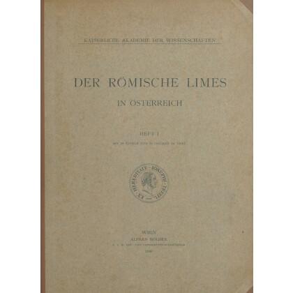 Der römische Limes in Österreich, Band 1