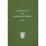 Fundberichte aus Baden-Württemberg, Band 6 - 1981