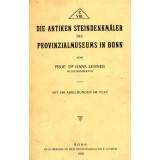 Die antiken Steindenkmäler des Provinzialmuseums in...