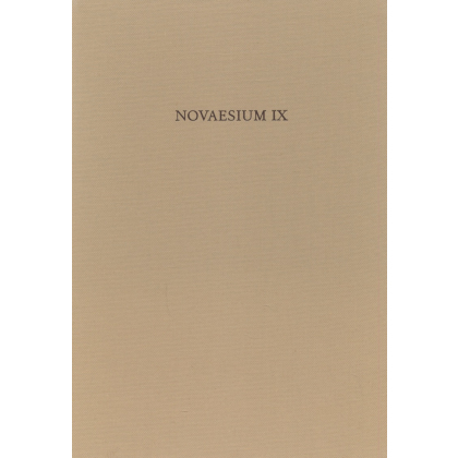 Novaesium IX. Die Italische Sigillata von Novaesium