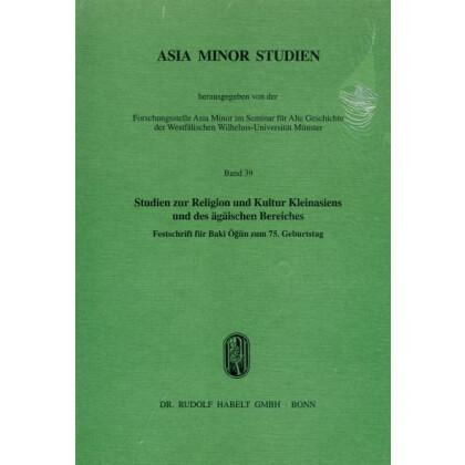Studien zur Religion und Kultur Kleinasiens und des ägäischen Bereiches