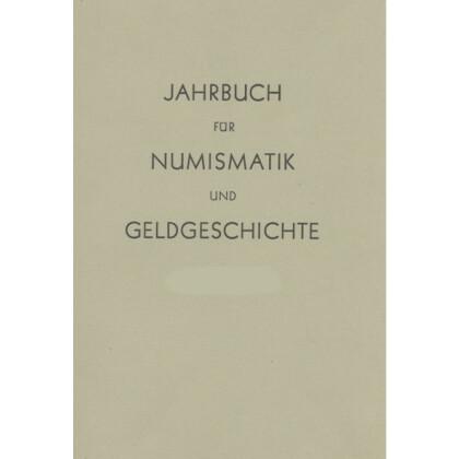 Jahrbuch für Numismatik und Geldgeschichte. Band XXX, 1980