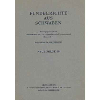 Fundberichte aus Schwaben, Neue Folge 19