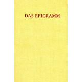 Das Epigramm. Zur Geschichte eine Inschriftlichen und...
