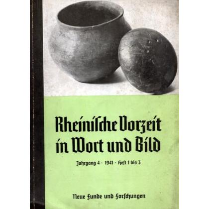 Rheinische Vorzeit in Wort und Bild, 8 Hefte