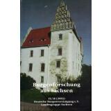 Burgenforschung aus Sachsen, Band 15 und 16