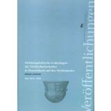 Nichtmegalithische Grabanlagen der Trichterbecherkultur in Deutschland und den Niederlanden