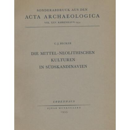 Die mittel-neolitischen Kulturen in Südskandinavien