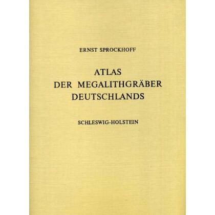 Atlas der Megalithgräber Deutschlands, Teil 1: Schleswig Holstein. 2 Bände, Text- und Atlas-Band