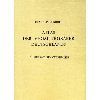 Atlas der Megalithgräber Deutschlands, Teil 3: Niedersachsen- Westfalen. 2 Bände, Text- und Atlas-Band