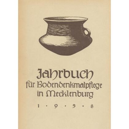 Bodendenkmalpflege in Mecklenburg, Jahrbuch 1958