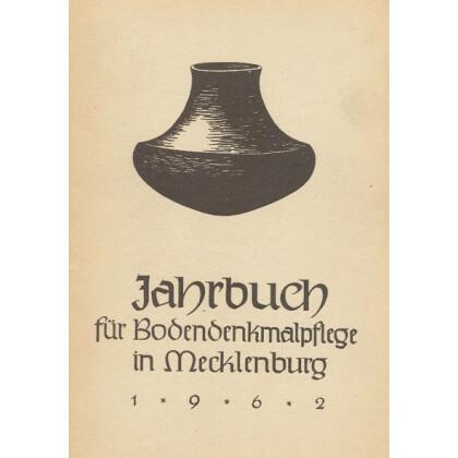Bodendenkmalpflege in Mecklenburg, Jahrbuch 1962