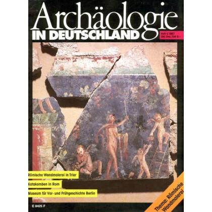 Archäologie in Deutschland. Heft 1987/4. Römische Wandmalerei in Trier
