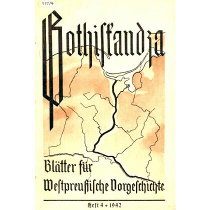 Gothiskandza - Blätter für Danziger Vorgeschichte, Heft 4-1942