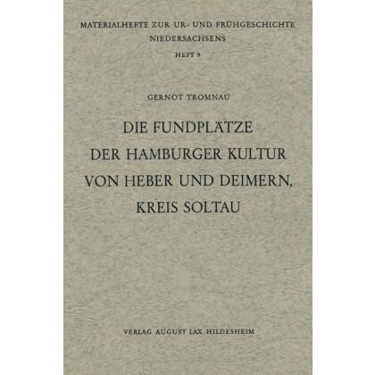 Die Fundplätze der Hamburger Kultur von Heber und Deimern, Kreis Soltau