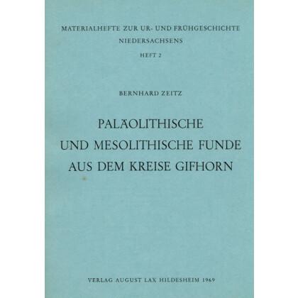 Paläolithische Funde aus dem Kreise Gifhorn