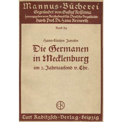 Die Germanen in Mecklenburg im 2. Jahrtausend v. Chr.