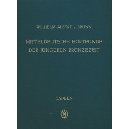 Mitteldeutsche Hortfunde der jüngeren Bronzezeit. 2 Bände, Text- und Tafelband