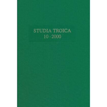 Studia Troica, Band 10 - 2000