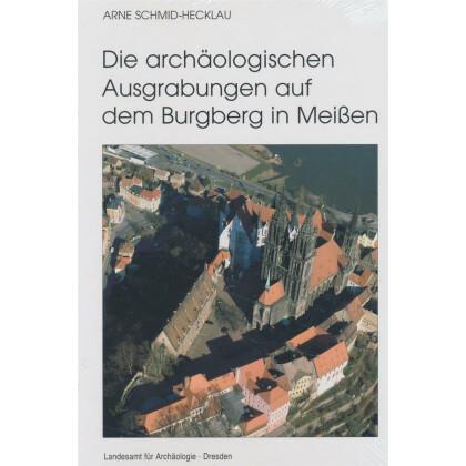 Die archäologischen Ausgrabungen auf dem Burgberg in Meißen - Die Ausgrabungen 1959 - 1963