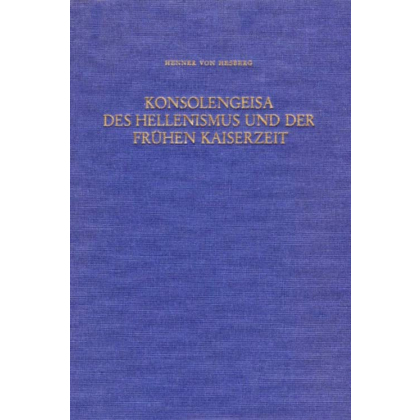 Konsolengeisa des Hellenismus und der frühen Kaiserzeit