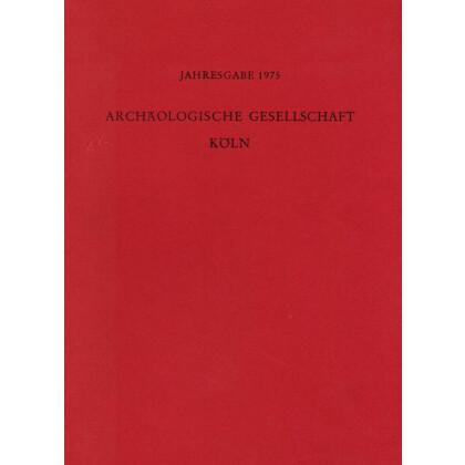 Kölner Jahrbuch für Vor- und Frühgeschichte, Band 14 - 1975