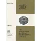 Die Münzprägung des Kaisers Aurelianus (270/75), 2 Bände