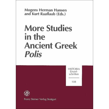 More Studies in the Ancient Greek Polis