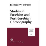 Studies in Eusebian and Post- Eusebian Chronography. 1....