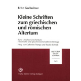 Kleine Schriften zum griechischen und römischen...