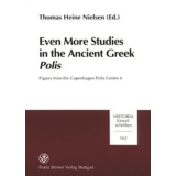 Even more Studies in the Ancient Greek Polis