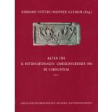 Akten des 14. Internationalen Limeskongresses 1986 in Carnuntum, 2 Bände