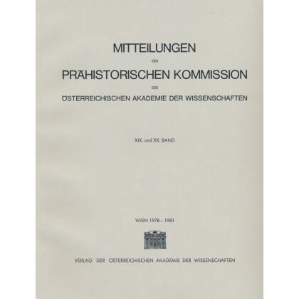 Das mittelbronzezeitliche Gräberfeld von Pitten in Niederösterreich. Ergebnisse der Ausgrabungen des Niederösterreichischen Landesmuseums in den Jahren 1967 bis 1973