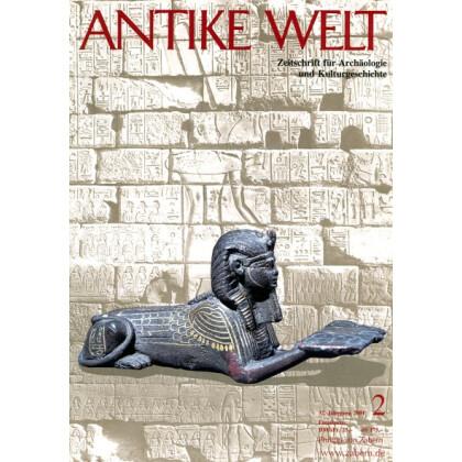 Antike Welt. Zeitschrift für Archäologie und Kulturgeschichte. 32. Jahrgang 2001, Heft 2