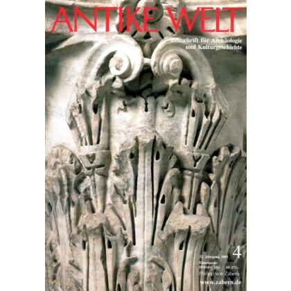 Antike Welt. Zeitschrift für Archäologie und Kulturgeschichte. 32. Jahrgang 2001, Heft 4