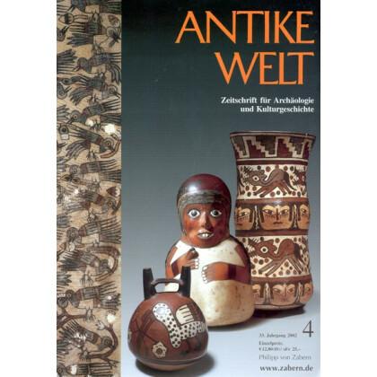 Antike Welt. Zeitschrift für Archäologie und Kulturgeschichte. 33. Jahrgang 2002, Heft 4