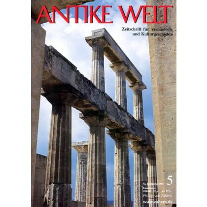 Antike Welt. Zeitschrift für Archäologie und Kulturgeschichte. 32. Jahrgang 2001, Heft 5