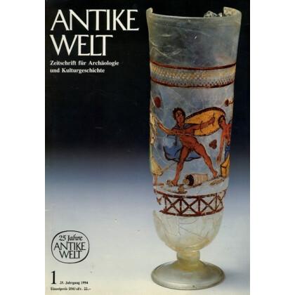 Antike Welt. Zeitschrift für Archäologie und Kulturgeschichte. 25. Jahrgang 1994, Heft 1