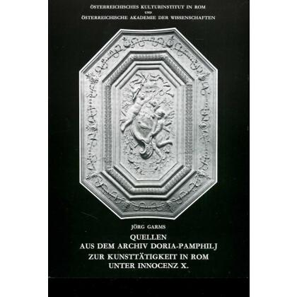 Quellen aus dem Archiv Doria-Pamphilj in Rom unter Innocenz X
