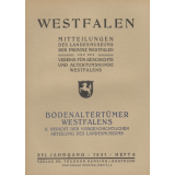 Bodenaltertümer Westfalens XVI. II. Bericht der...