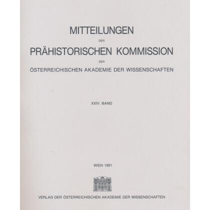 Das mittelbronzezeitliche Gräberfeld von Pitten in Niederösterreich