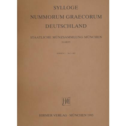 Ionien Teil I - Sylloge Nummorum Graecorum Deutschland