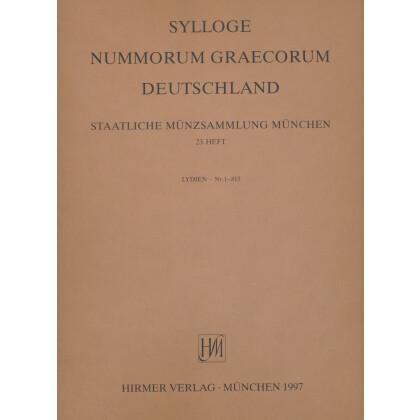 Lydien - Sylloge Nummorum Graecorum Deutschland. Staatliche Münzsammlung München