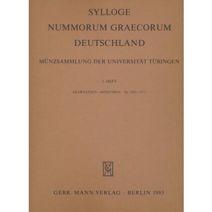 Akarnanien - Bithynien Nr. 1543-2173 - Sylloge Nummorum Graecorum. Deutschland Münzsammlung der Universität Tübingen